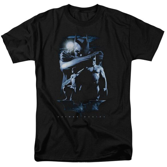 Batman Begins Forlorn Future Short Sleeve Adult T-Shirt