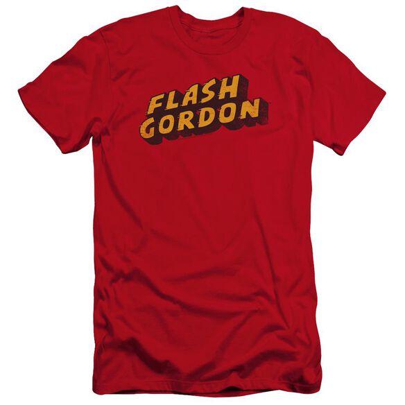 Flash Gordon Logo Premuim Canvas Adult Slim Fit