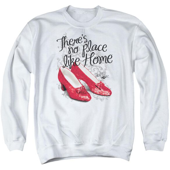 Wizard Of Oz Ruby Slippers Adult Crewneck Sweatshirt