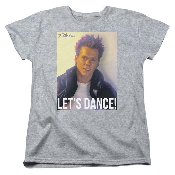 Footloose Lets Dance Short Sleeve Womens Tee Athletic T-Shirt