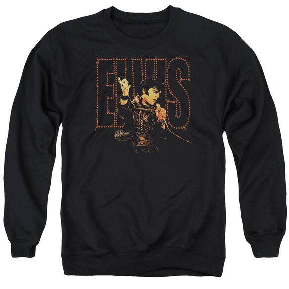 Elvis Take My Hand Adult Crewneck Sweatshirt