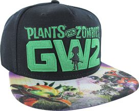 Plants vs Zombies GW2 Sublimated Bill Snap Hat