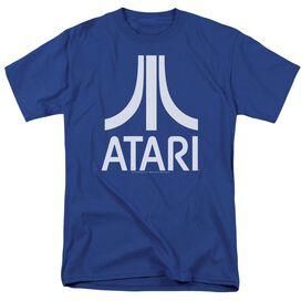 Atari Atari Logo Short Sleeve Adult Royal T-Shirt