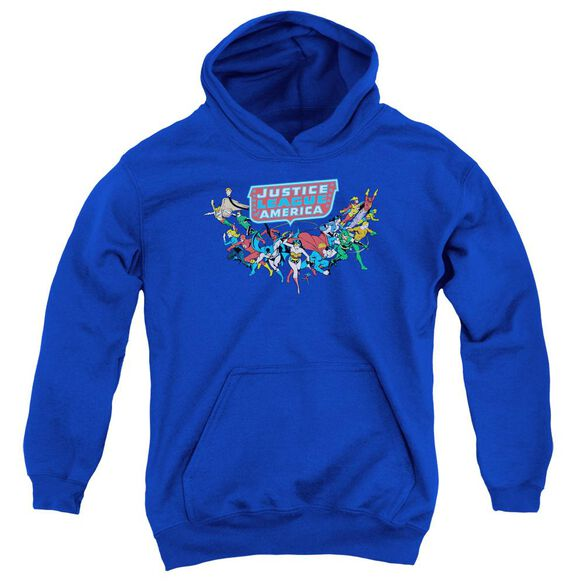 Dc Here They Come Youth Pull Over Hoodie