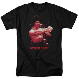 Bruce Lee The Shattering Fist Short Sleeve Adult T-Shirt