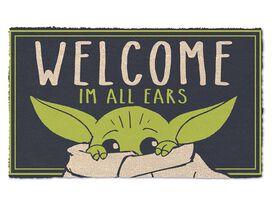 Star Wars The Mandalorian The Child I'm All Ears Doormat