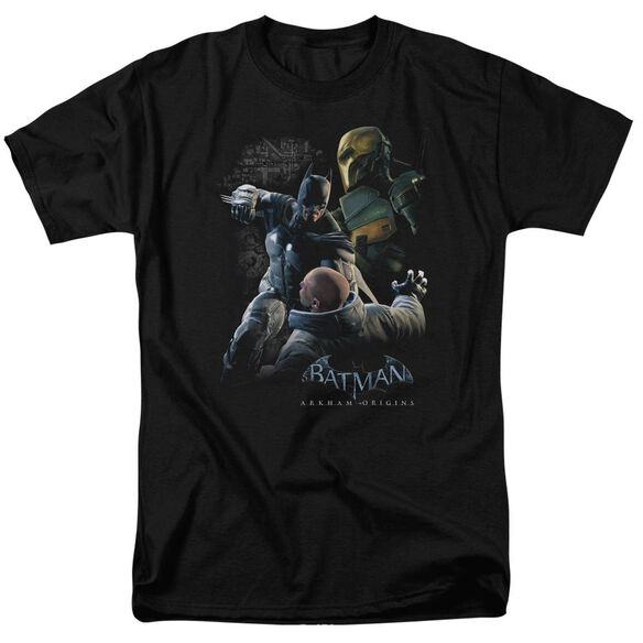 Batman Arkham Origins Punch Short Sleeve Adult T-Shirt