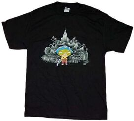 Family Guy Stewie Armory T-Shirt
