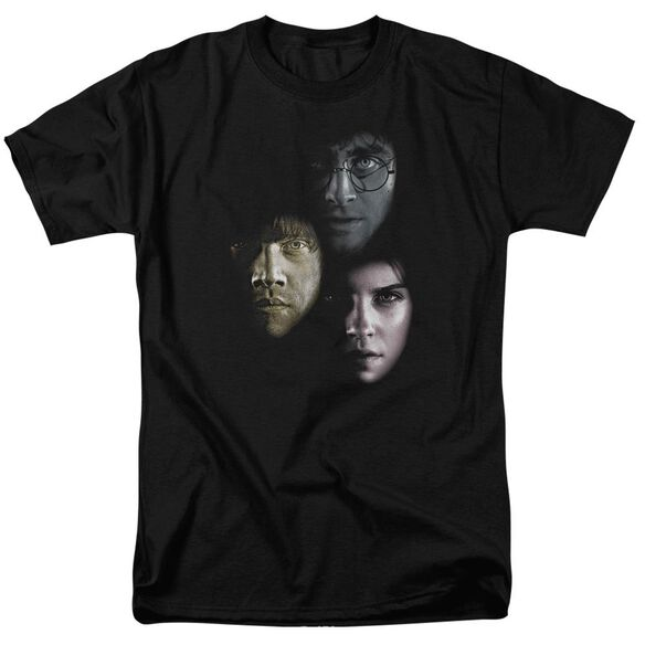 Harry Potter Hero Heads Short Sleeve Adult T-Shirt