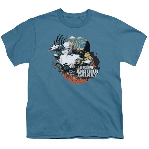 Twilight Zone From Another Galaxy Short Sleeve Youth T-Shirt