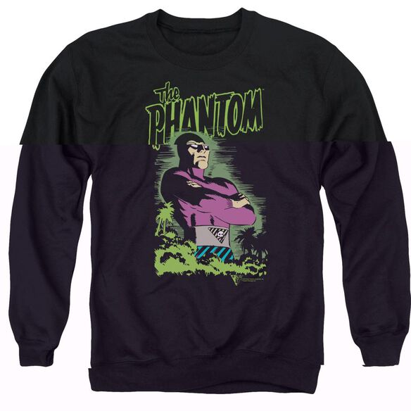 Phantom Jungle Protector Adult Crewneck Sweatshirt