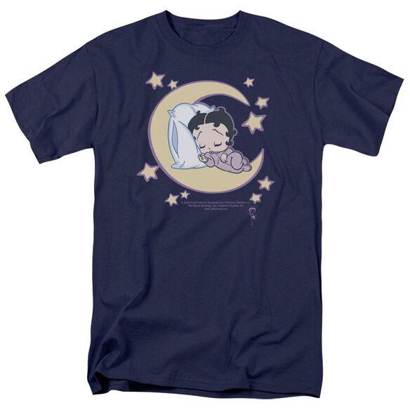 Betty Boop Sleepy Time Short Sleeve Adult T-Shirt