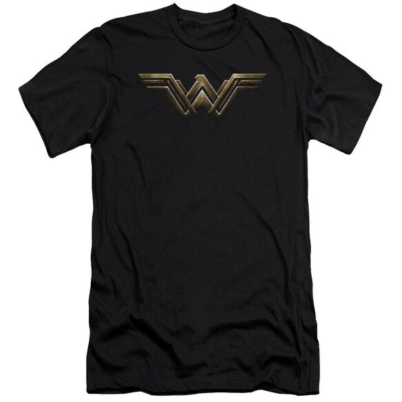 Justice League Movie Wonder Woman Logo Hbo Short Sleeve Adult T-Shirt