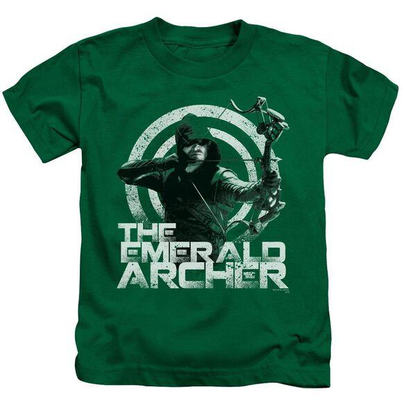 Arrow Archer Short Sleeve Juvenile Kelly Green T-Shirt