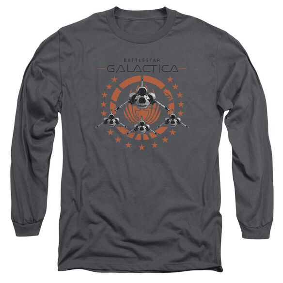 Bsg Squadron Long Sleeve Adult T-Shirt