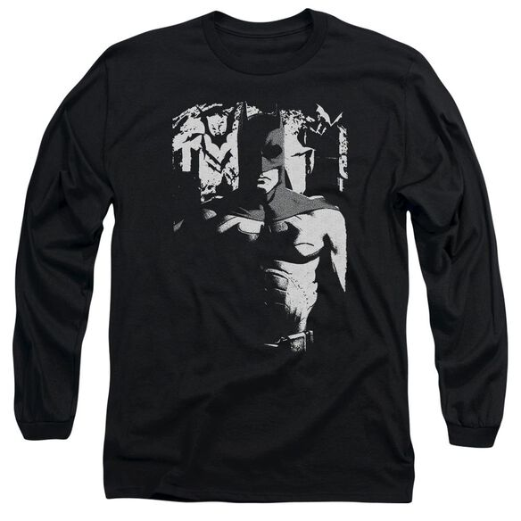 Batman Begins Birth Of Knight Long Sleeve Adult T-Shirt