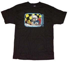 Speed Racer Wheel Grip T-Shirt