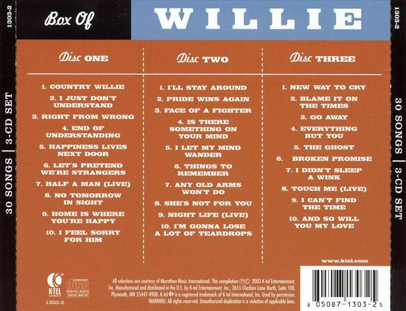 Box Of Willie