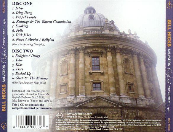 Salvation:Oxford Nov. 11