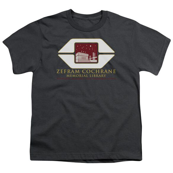 Star Trek Cochrane Library Short Sleeve Youth T-Shirt