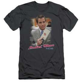 NCIS LADIES MAN - S/S ADULT 30/1 - CHARCOAL T-Shirt