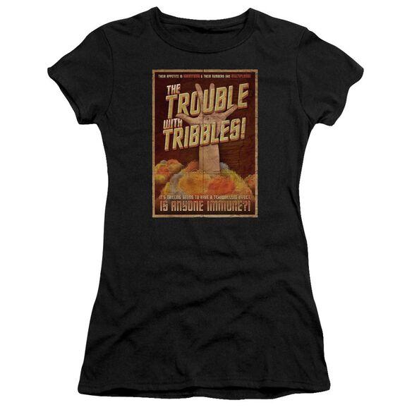 Star Trek Tribbles: The Movie Premium Bella Junior Sheer Jersey