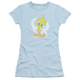 Looney Tunes Retro Tweety Short Sleeve Junior Sheer Light T-Shirt