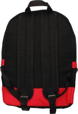 Superman Embroidered Logo Black Backpack