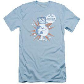 Dum Dums Drum Man Short Sleeve Adult Light T-Shirt