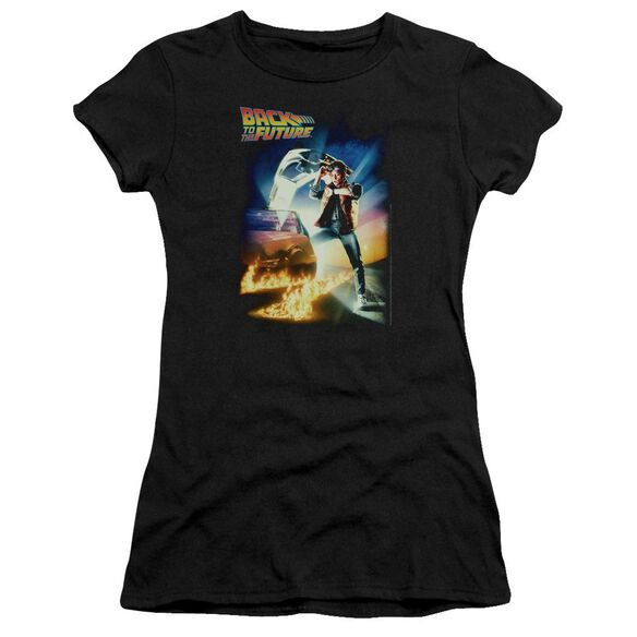 Back To The Future Poster Premium Bella Junior Sheer Jersey