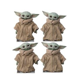 Star Wars The Mandalorian The Child 4-Piece Standup Set
