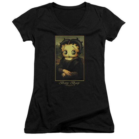 Betty Boop Boopalisa Junior V Neck T-Shirt