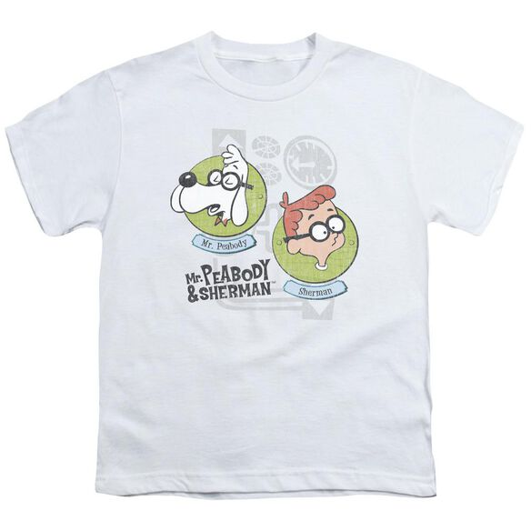 Mr Peabody & Sherman Gadgets Short Sleeve Youth T-Shirt