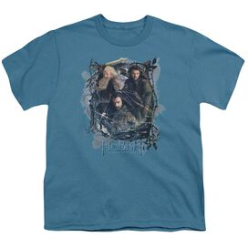 Hobbit Three Dwarves Short Sleeve Youth T-Shirt