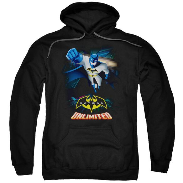 Batman Unlimited Descent Adult Pull Over Hoodie