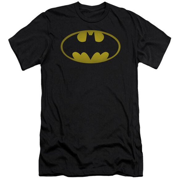 Batman Washed Bat Logo Short Sleeve Adult T-Shirt