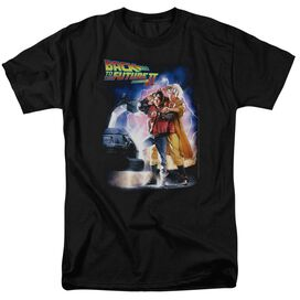 Back To The Future Ii Poster Short Sleeve Adult T-Shirt