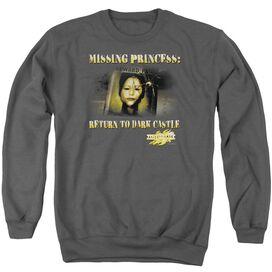 Mirrormask Missing Princess - Adult Crewneck Sweatshirt - Charcoal