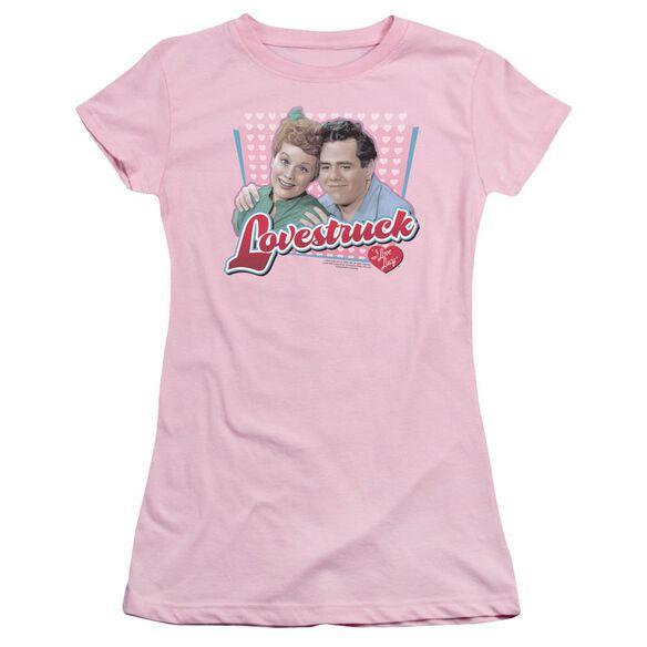 I Love Lucy Lovestruck Short Sleeve Junior Sheer T-Shirt