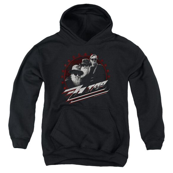 Zz Top The Boys Youth Pull Over Hoodie