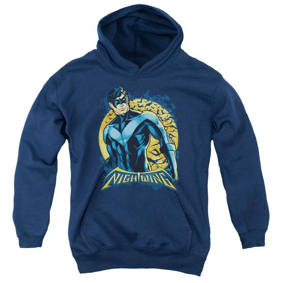 Batman Nightwing Moon Youth Pull Over Hoodie