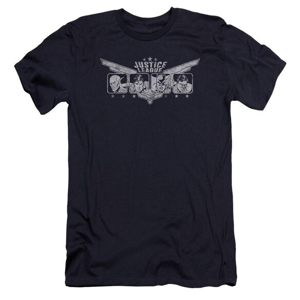 Jla Justice Wings Premuim Canvas Adult Slim Fit
