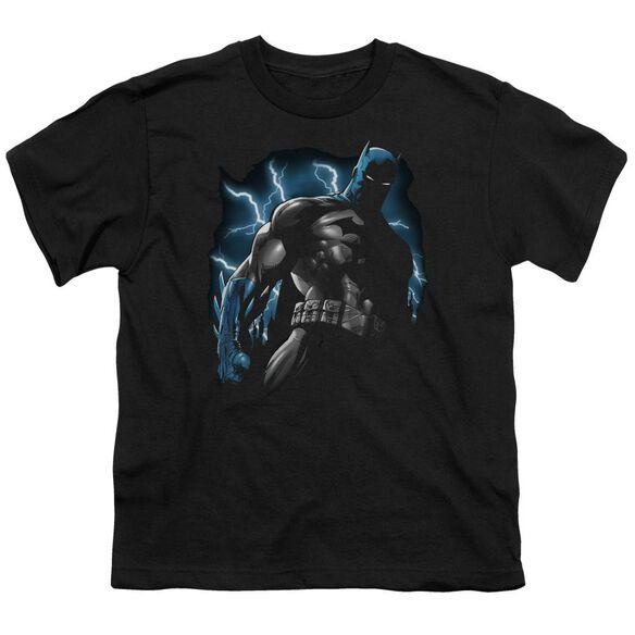 Batman Gotham Lightning Short Sleeve Youth T-Shirt