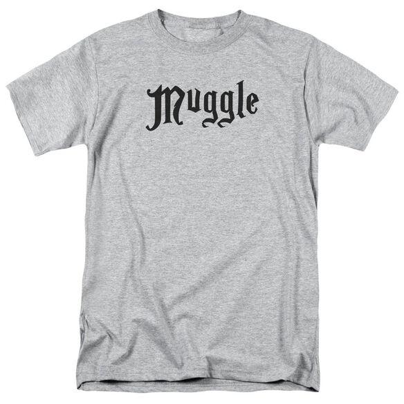 Harry Potter Muggle Short Sleeve Adult Athletic T-Shirt