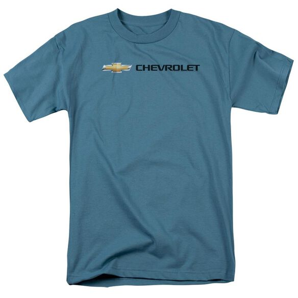 Chevrolet Chevy Bowtie Wide Front Short Sleeve Adult T-Shirt