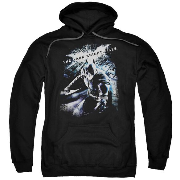 Dark Knight Rises More Than A Man Adult Pull Over Hoodie