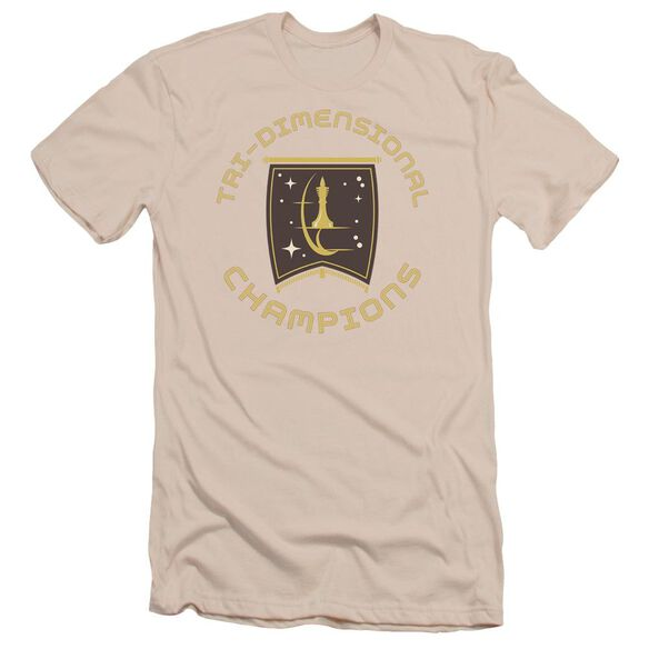 Star Trek Tri Dimensional Champs Short Sleeve Adult T-Shirt