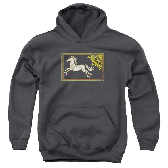 Lor Rohan Banner Youth Pull Over Hoodie