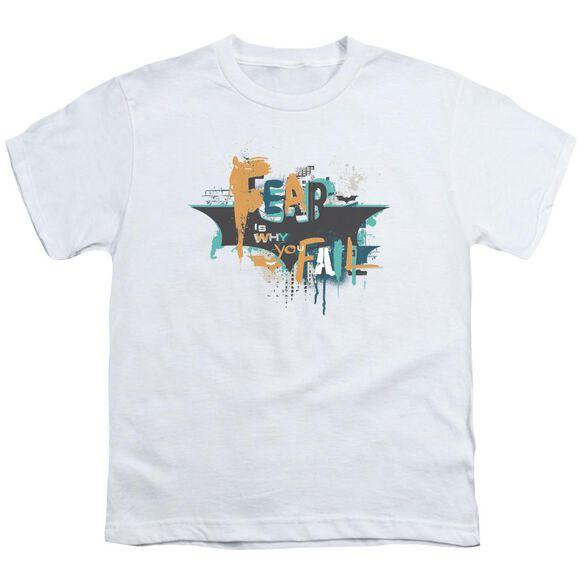 Dark Knight Rises No Fear Short Sleeve Youth T-Shirt
