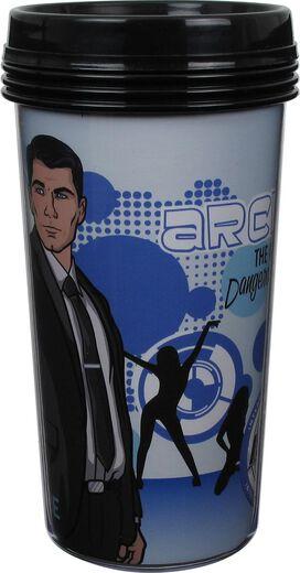 Archer Sterling Dangerous Spy Travel Mug